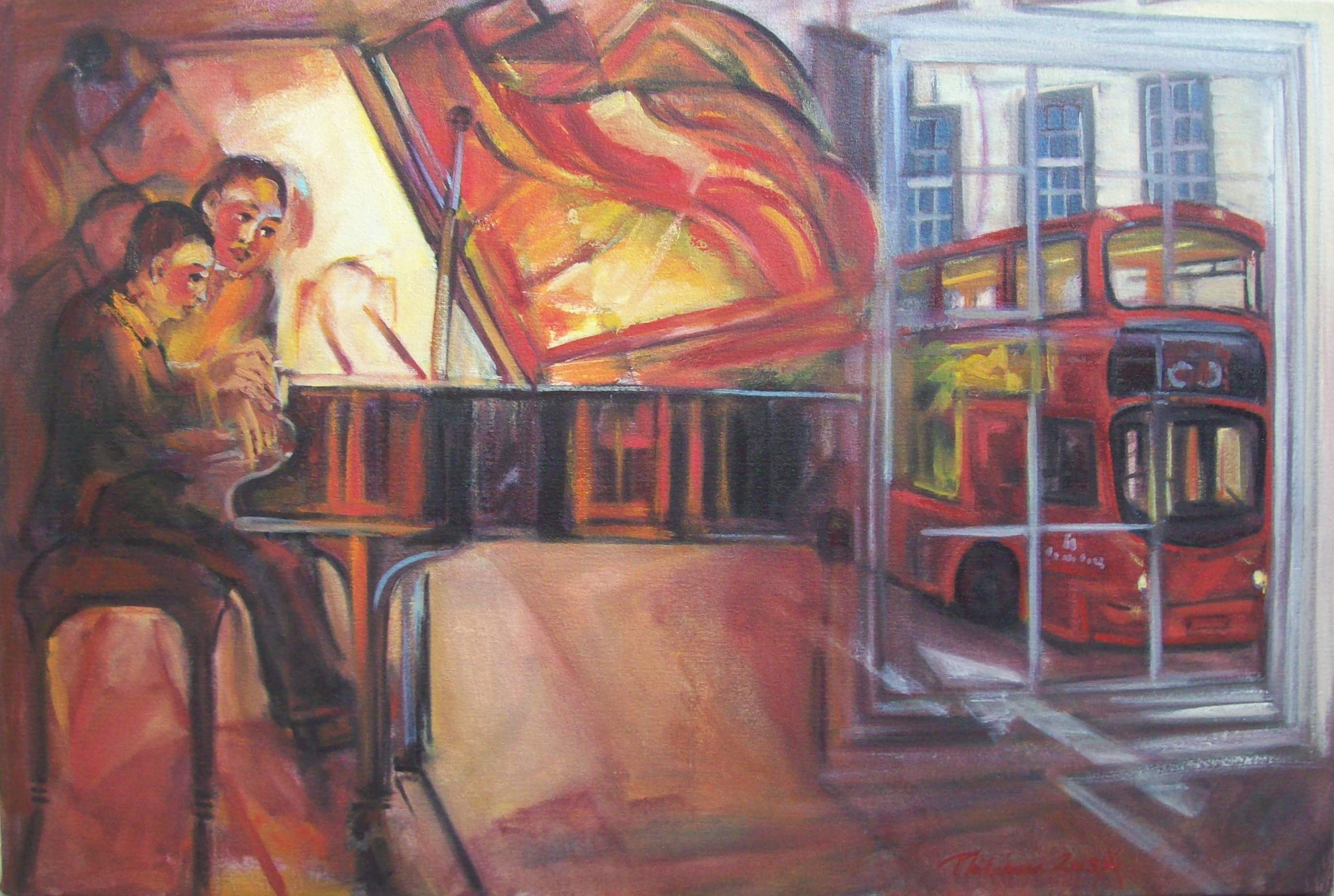 Picture entitled 'Grand Piano' by Philomena Harmsworth