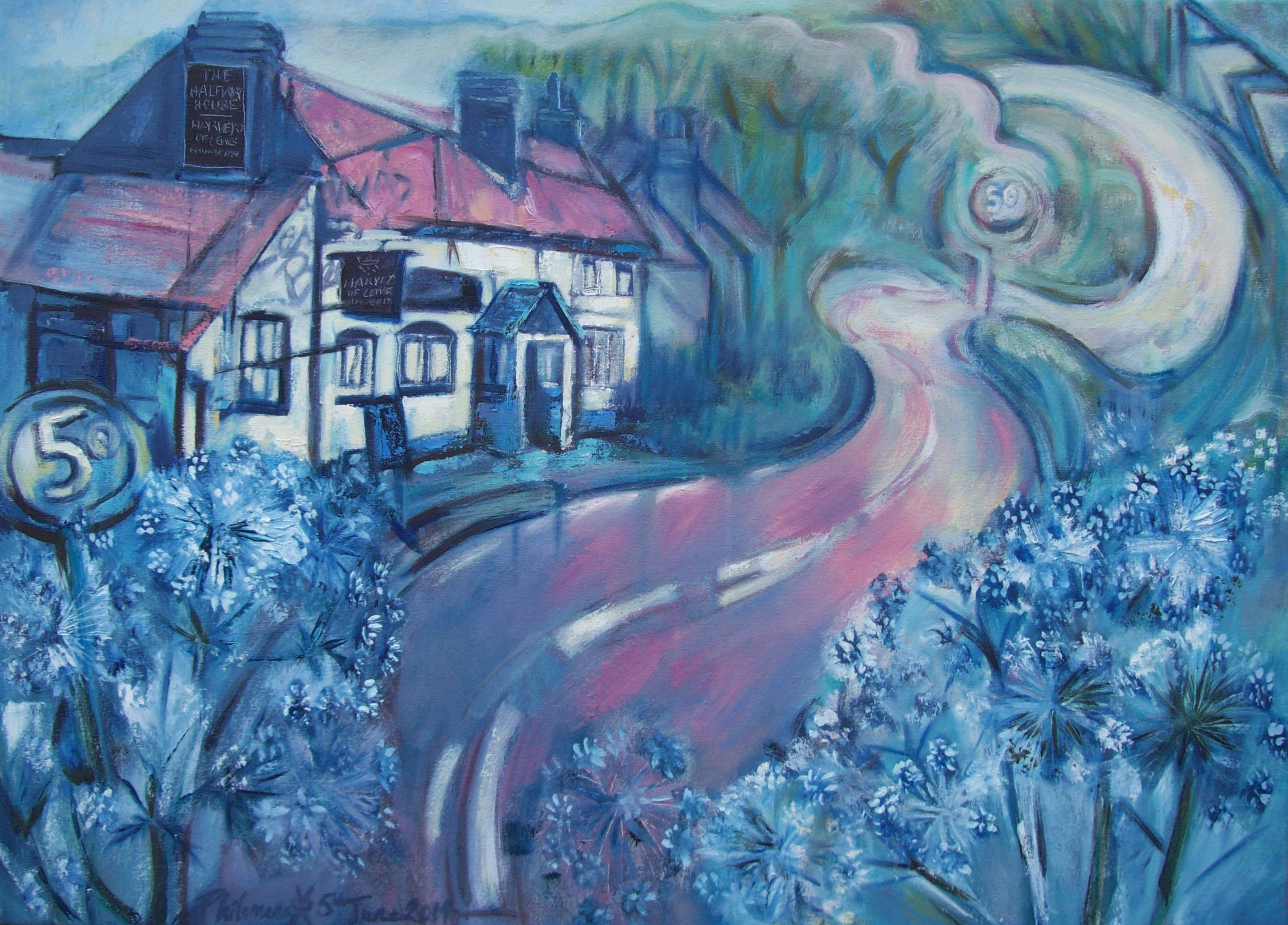 Half-Way House, Lewes to Uckfield (Fine Art Prints)