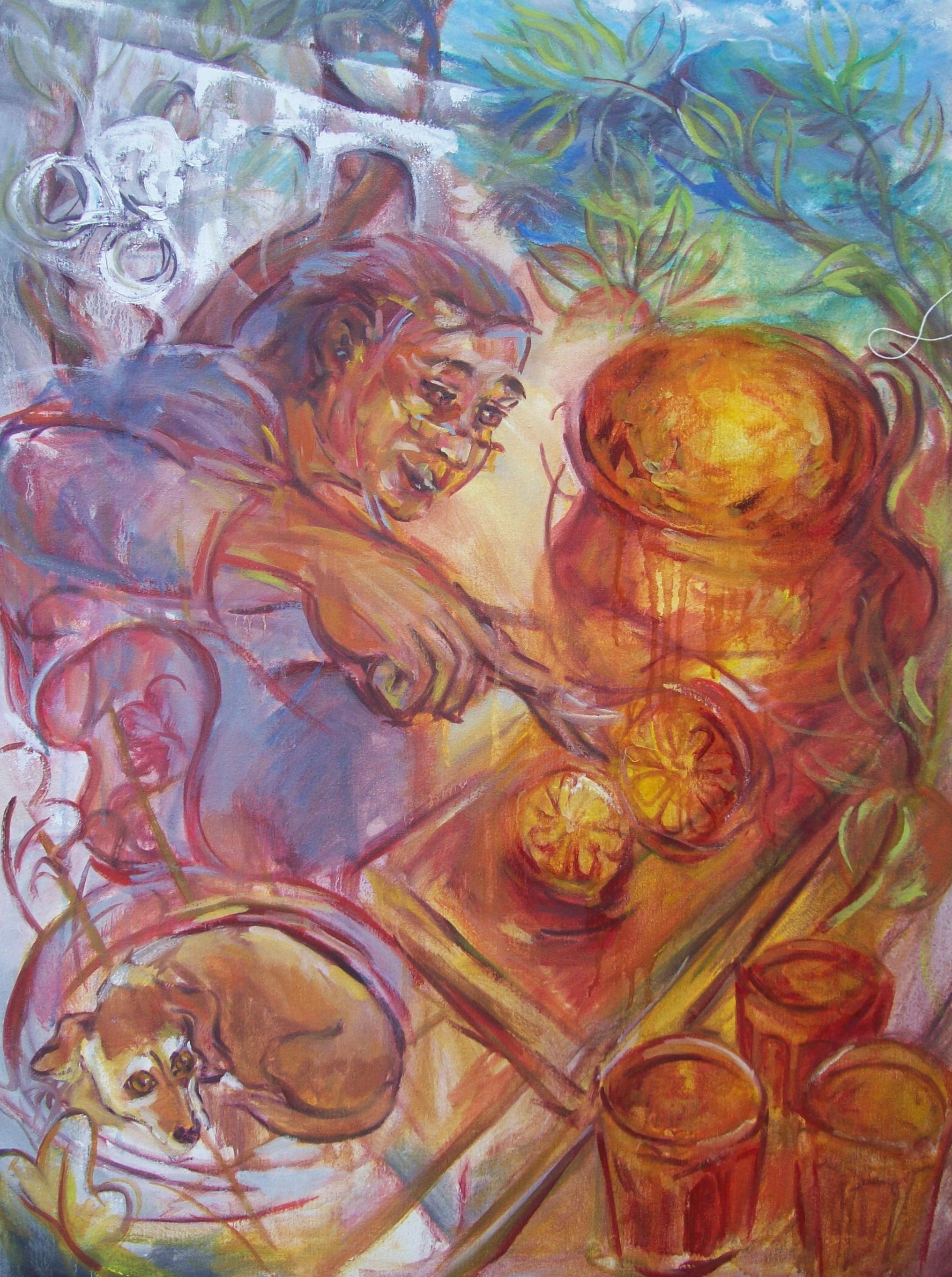 Making Marmalade (Fine Art Print)