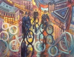 Image of Picture entitled 'Three Policemen By Philomena Harmsworh