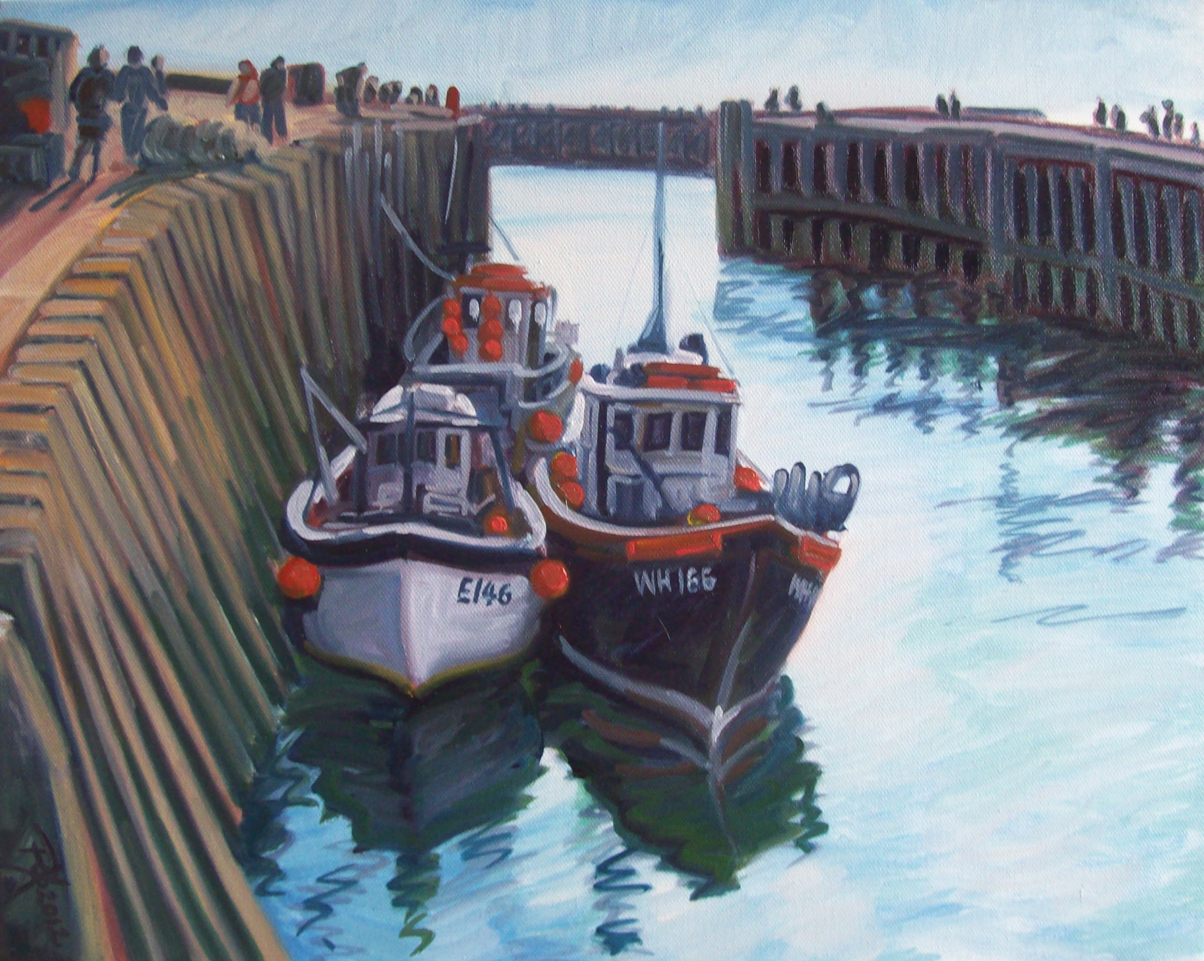 West Bay Boats (Fine Art Prints)