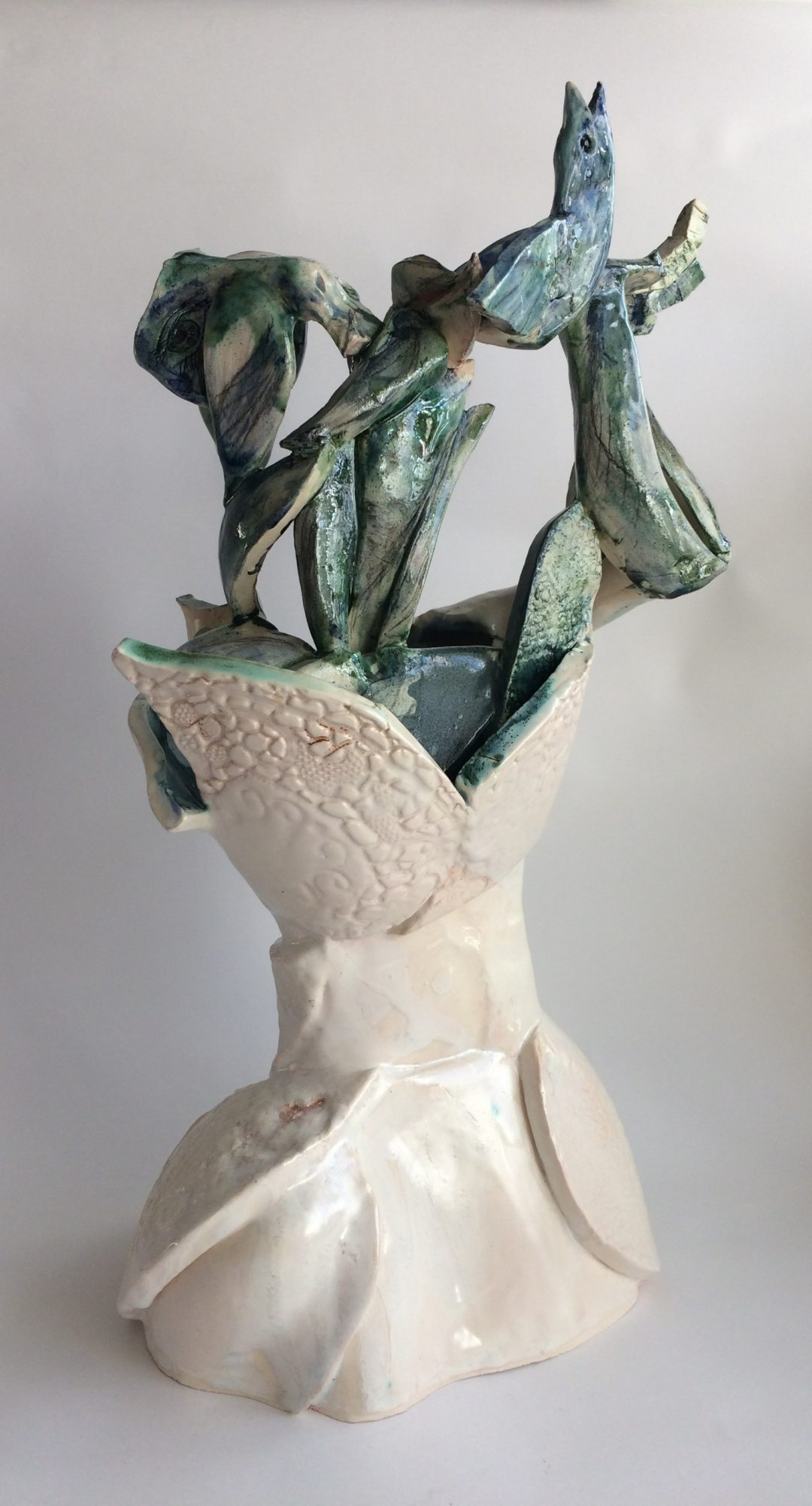 ceramic version on Philomena Harmsworth's Ballading Bride