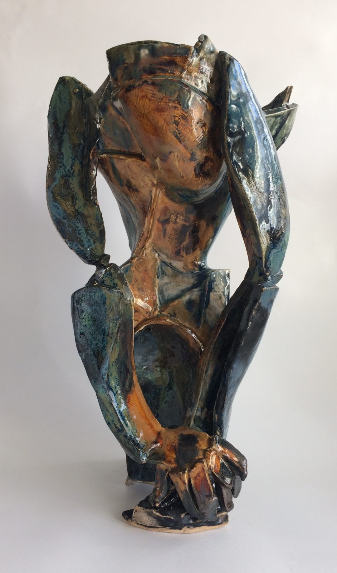 Philomena's ceramic take on a painting by Picasso