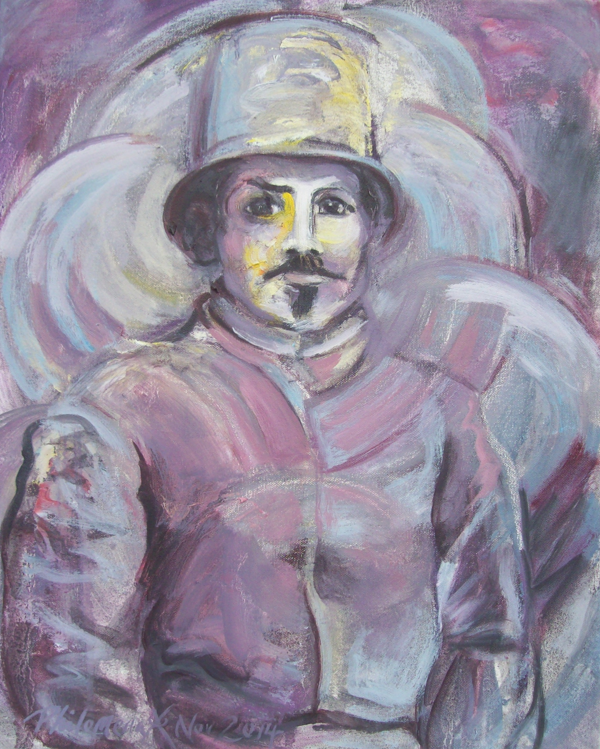 Portrait of a Policeman (For Sale)