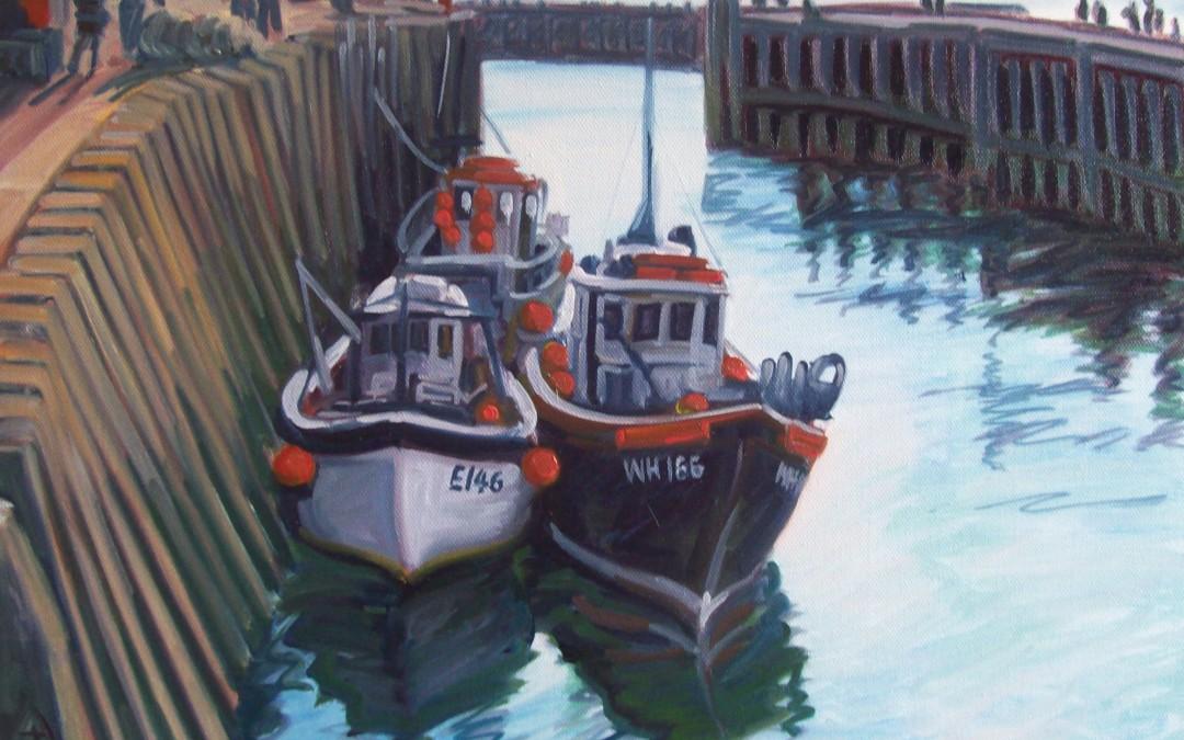 West Bay Boats (Fine Art Prints)