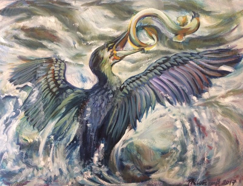 The Cormorant and the Eel